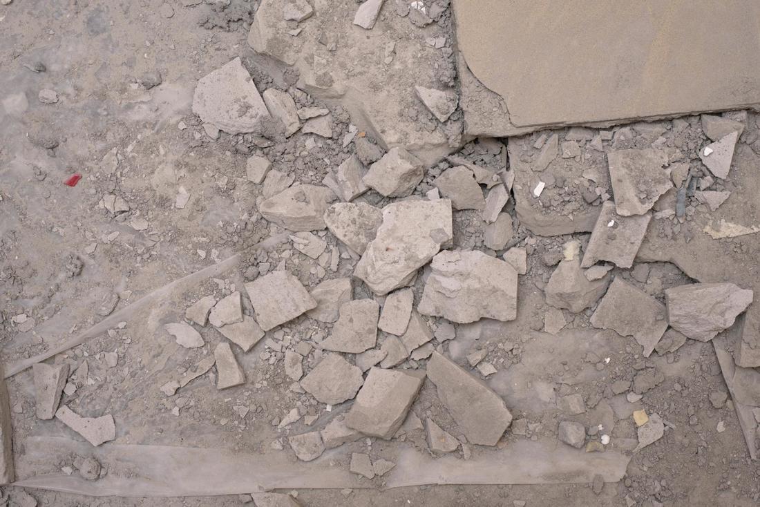 разбивка бетона